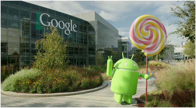 Google Lollipop - Mobile App