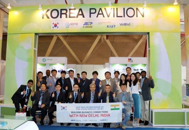 Auto Expo 2016 Press Release from Korea Pavilion