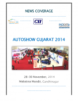 Gujarat Auto Show 2015 Print Media Covergae