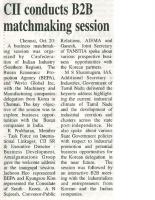 Busan(BAPA) Chennai Machinery Delegation Trinity Mirror Nov-20th-2016