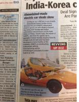 Gujarat Auto Show 2015 Print Media