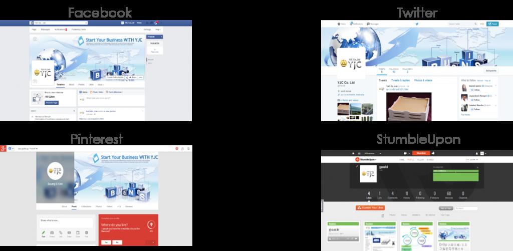 lineale design facebook