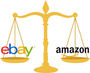 difference between ebay and amazon