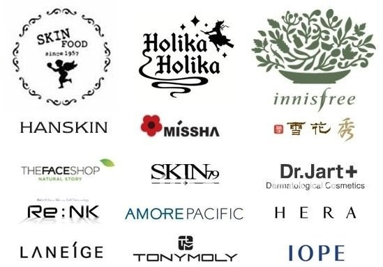 korean Skin care product companies