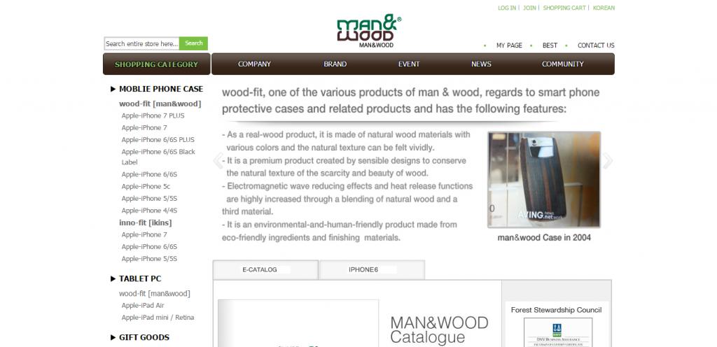 Man & Wood